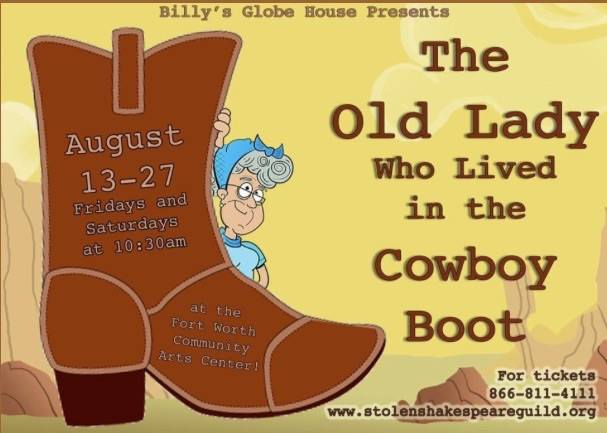 The Old Lady Who Lived in the Cowboy Boot