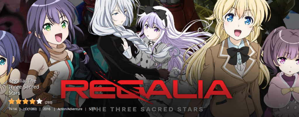 Regalia The Three Sacred Stars