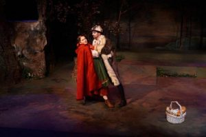 Into the Woods at Stolen Shakespeare Guild: Little Red Riding Hood